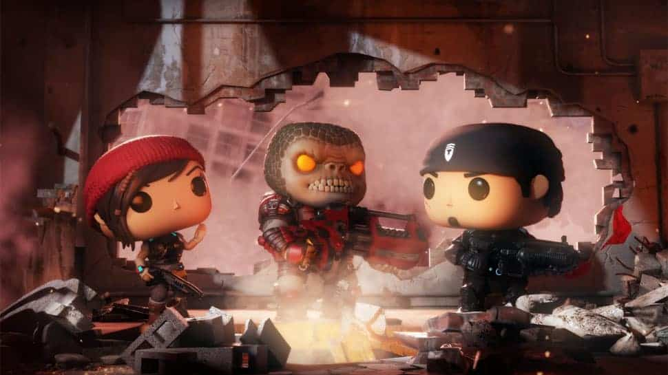 GEARS 5 Teaser and GEARS OF WAR Funko Pop Game Debut at E3 2018