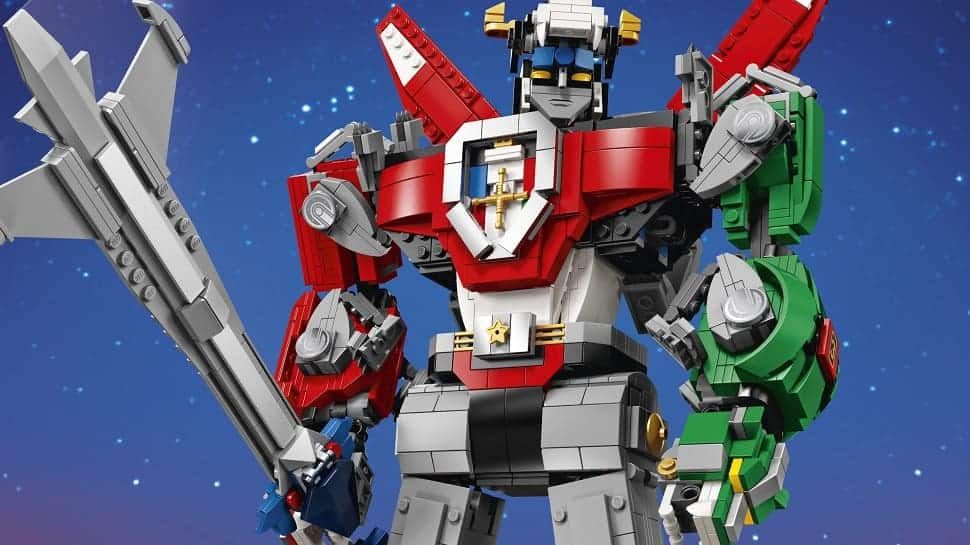 Official LEGO VOLTRON Will Debut at SDCC