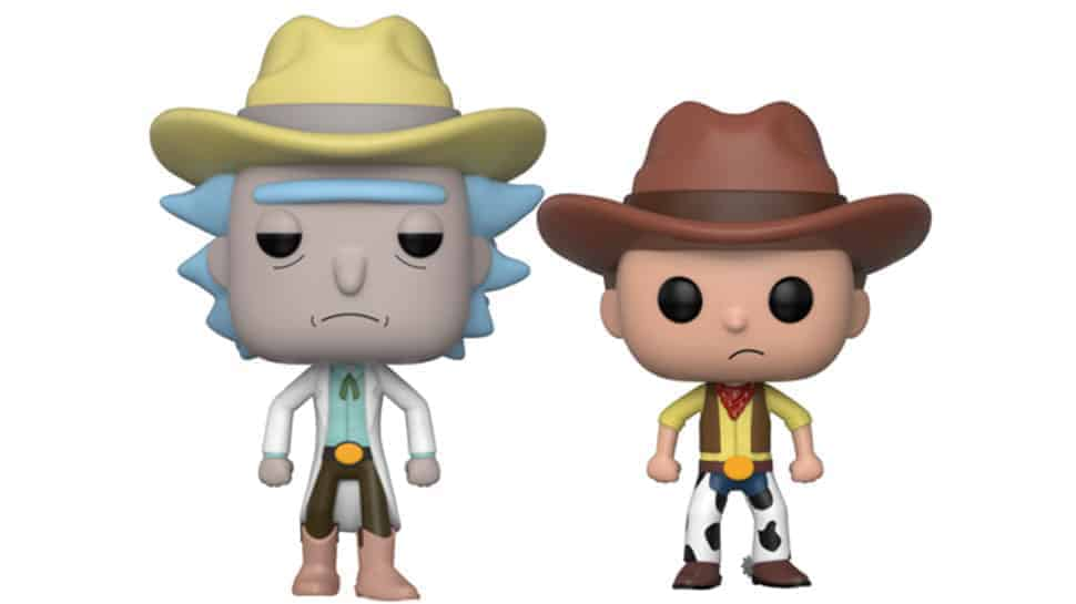 "Western RICK AND MORTY, ""Goodbye Moonmen"" Vinyl Are Funko Comic-Con Exclusives"