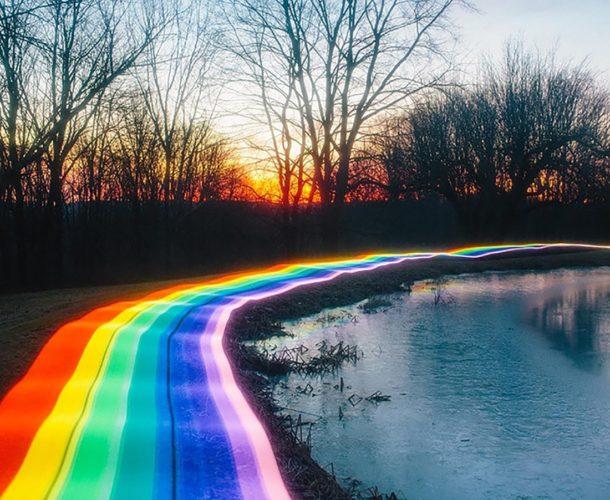 Artist Captures MARIO KART's Rainbow Road IRL_6