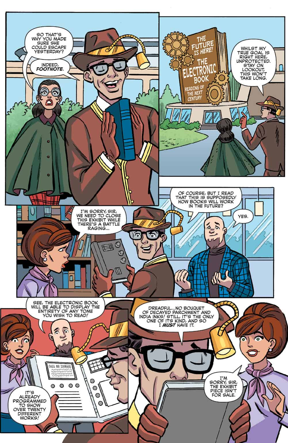 The Dynamic Duo Heads to Riverdale in ARCHIE MEETS BATMAN '66 #1 (Exclusive Preview)_12