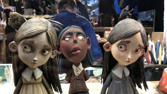 Neil Gaiman Walked Us Through the Magic of LAIKA at SDCC Live Experience