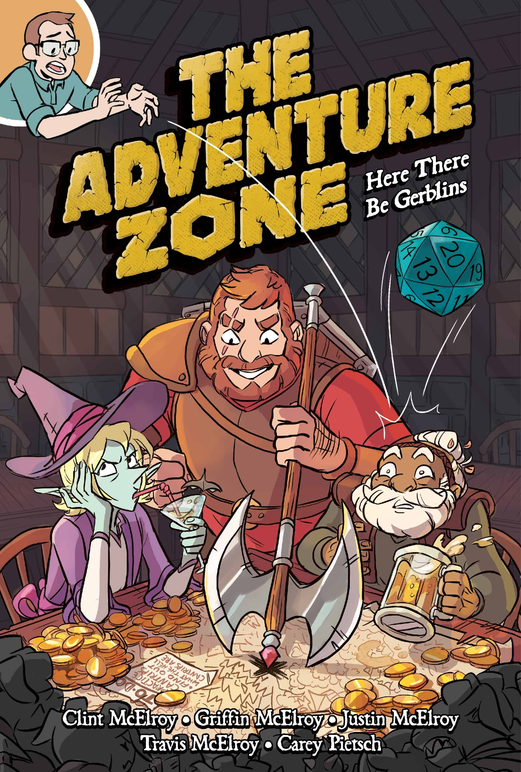 How THE ADVENTURE ZONE Went From D&D Podcast Sensation to Graphic Novel_2