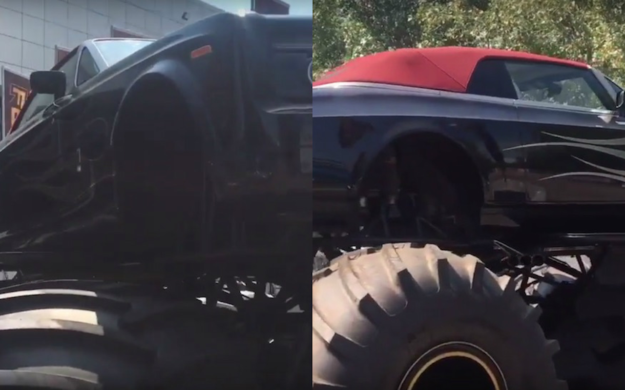 This Monster Truck Was Made From A Half A Million Dollar