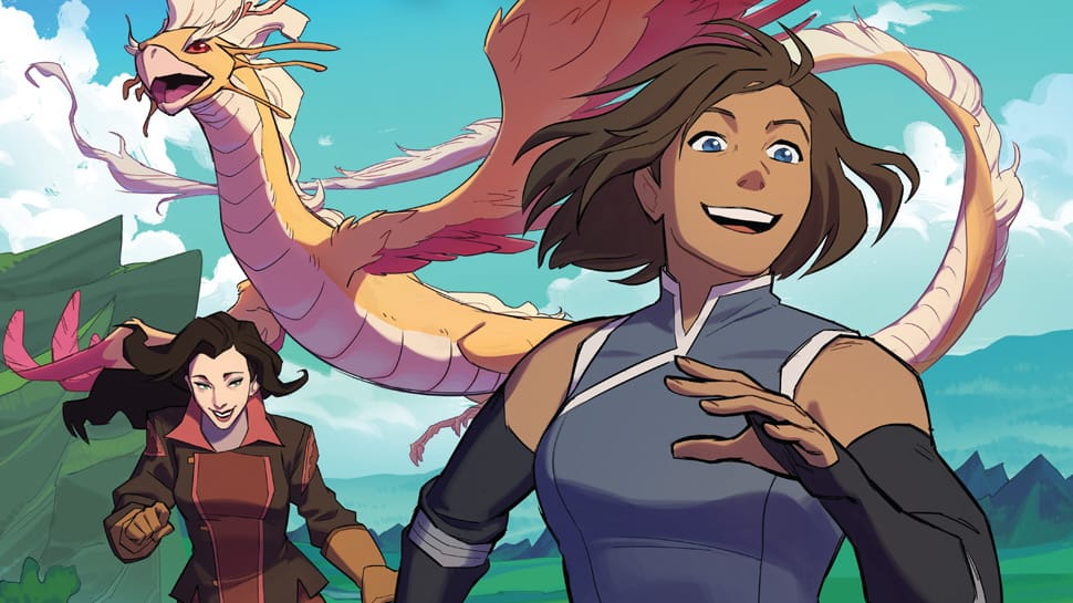 Look at These Gorgeous LEGEND OF KORRA and AVATAR Covers (Exclusive)
