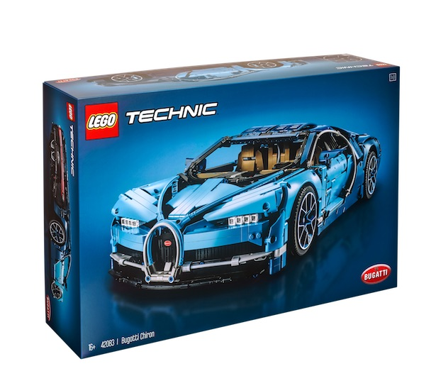 Lego makes a driveable full-sized Bugatti Chiron