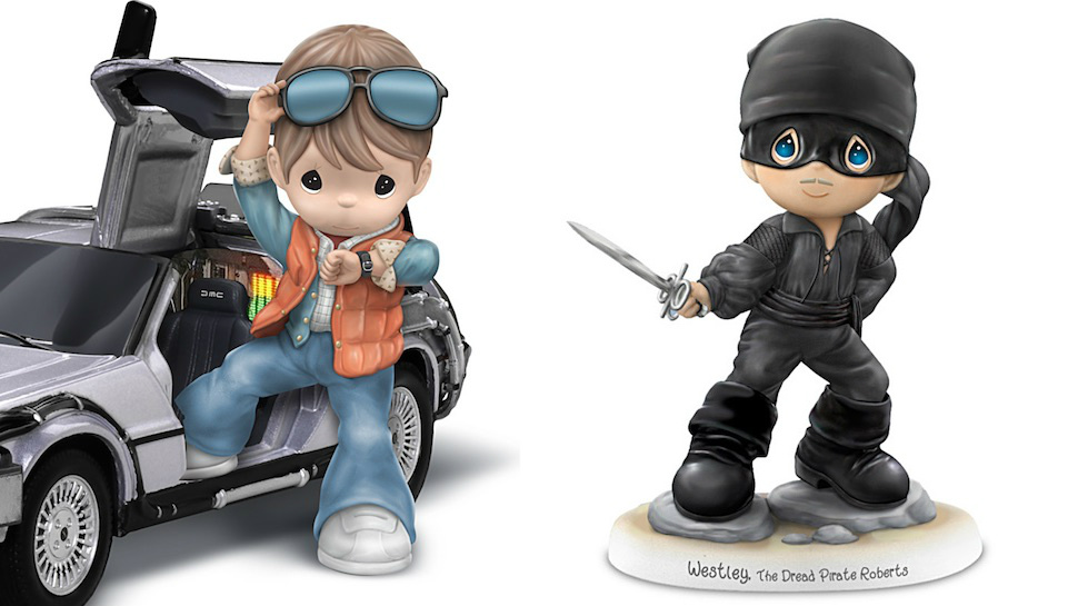 BACK TO THE FUTURE and THE PRINCESS BRIDE Get Precious Moments Figures