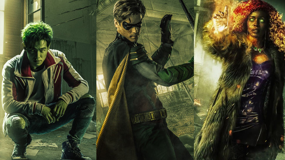 DC Universe' TITANS Drops New Trailer and Is Renewed for Season 2