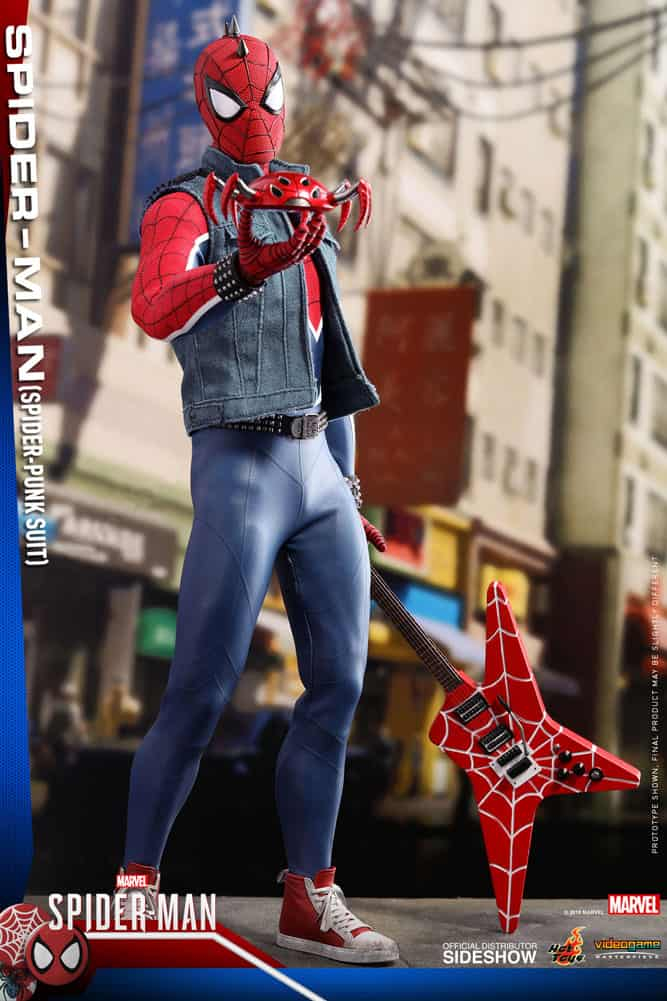 Rock into MARVEL'S SPIDER-MAN with Hot Toys' SPIDER-PUNK