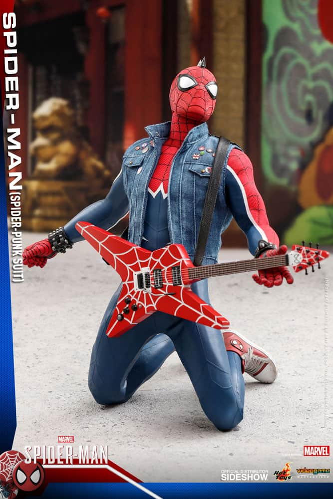 Rock into MARVEL'S SPIDER-MAN with Hot Toys' SPIDER-PUNK Figure_12