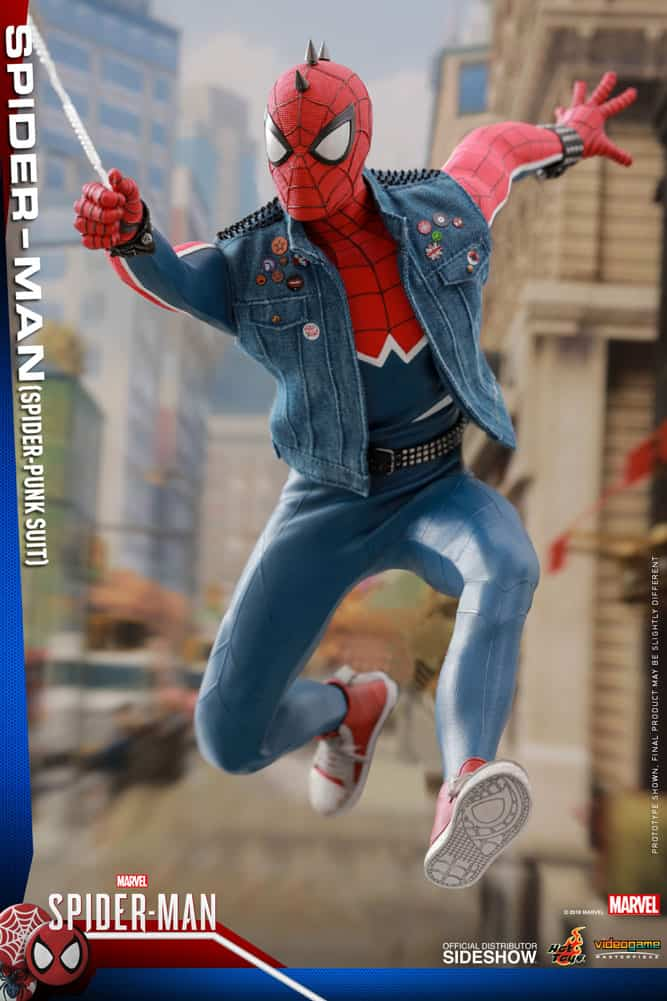 Rock into MARVEL'S SPIDER-MAN with Hot Toys' SPIDER-PUNK Figure_15