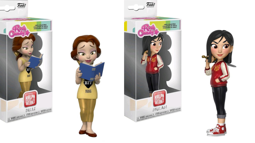 Funko Gives Disney Princesses A Ralph Breaks The Internet Makeover Nerdist