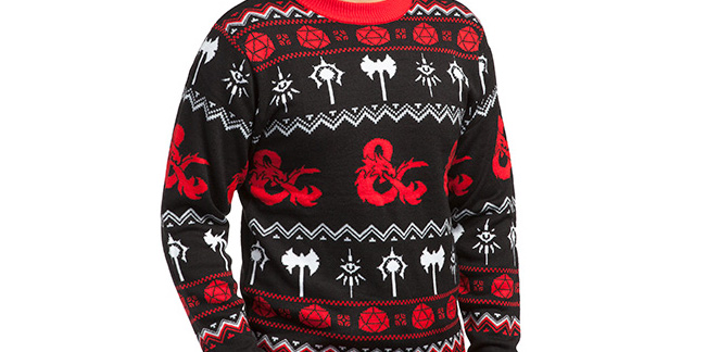 Nerd Christmas Jumper.10 Pop Culture Inspired Ugly Sweaters You Need In Your