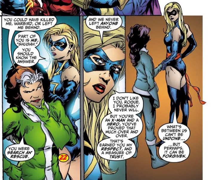The Twisted Saga of Captain Marvel and X-MEN's Rogue_9