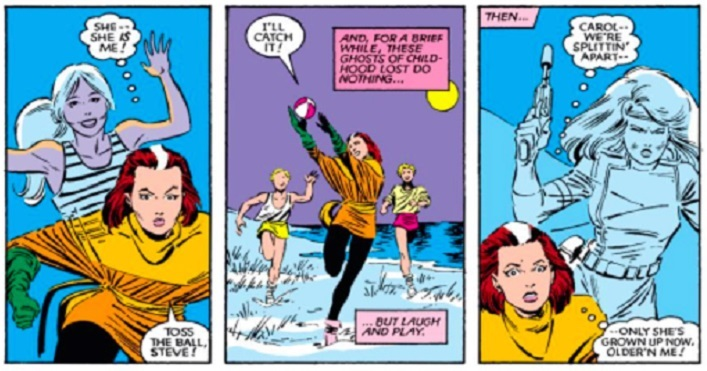 The Twisted Saga of Captain Marvel and X-MEN's Rogue_7