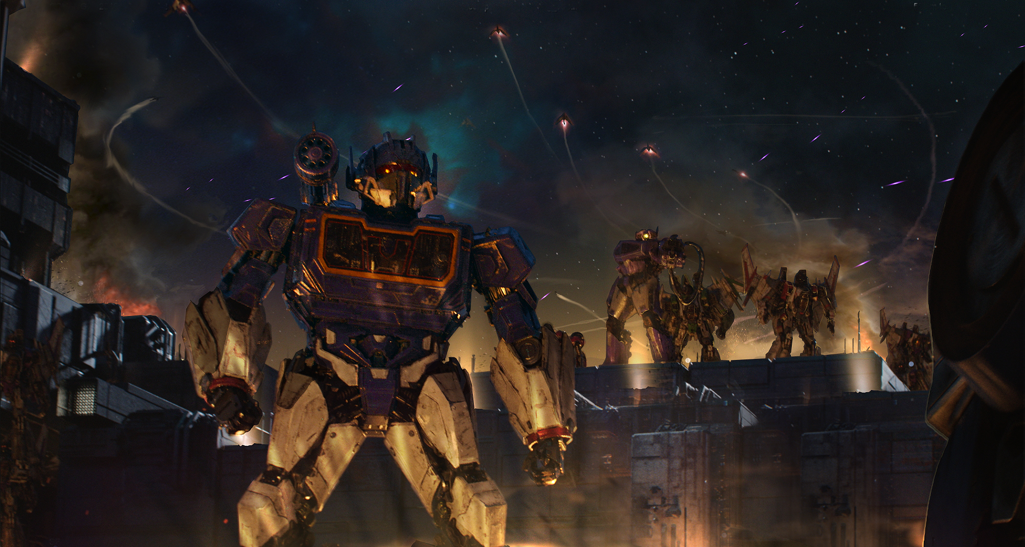 Exclusive BUMBLEBEE Concept Art Gives a Detailed Look at Cybertron_8