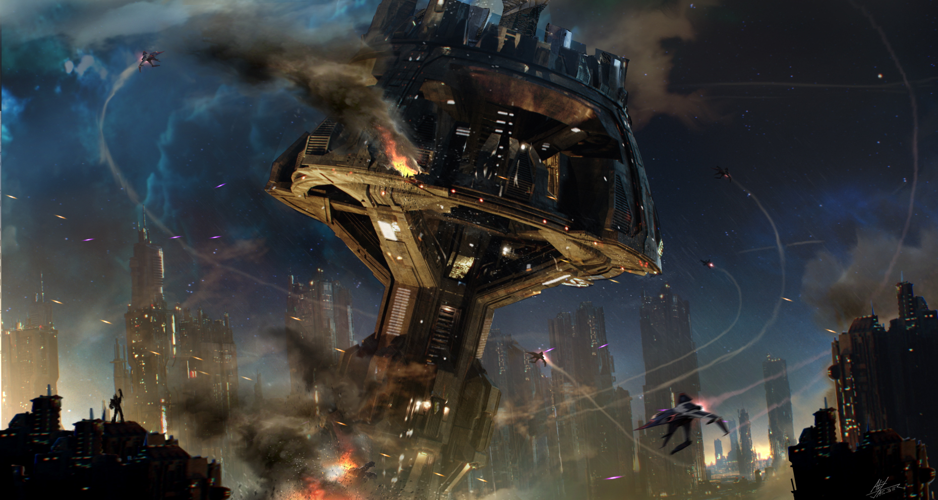 Exclusive BUMBLEBEE Concept Art Gives a Detailed Look at Cybertron_12