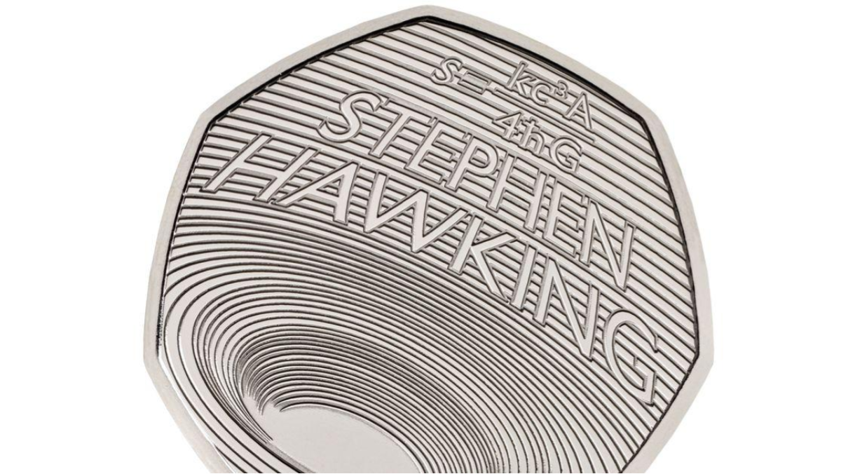 Stephen Hawking Honored with a Black Hole-Inspired 50p Coin