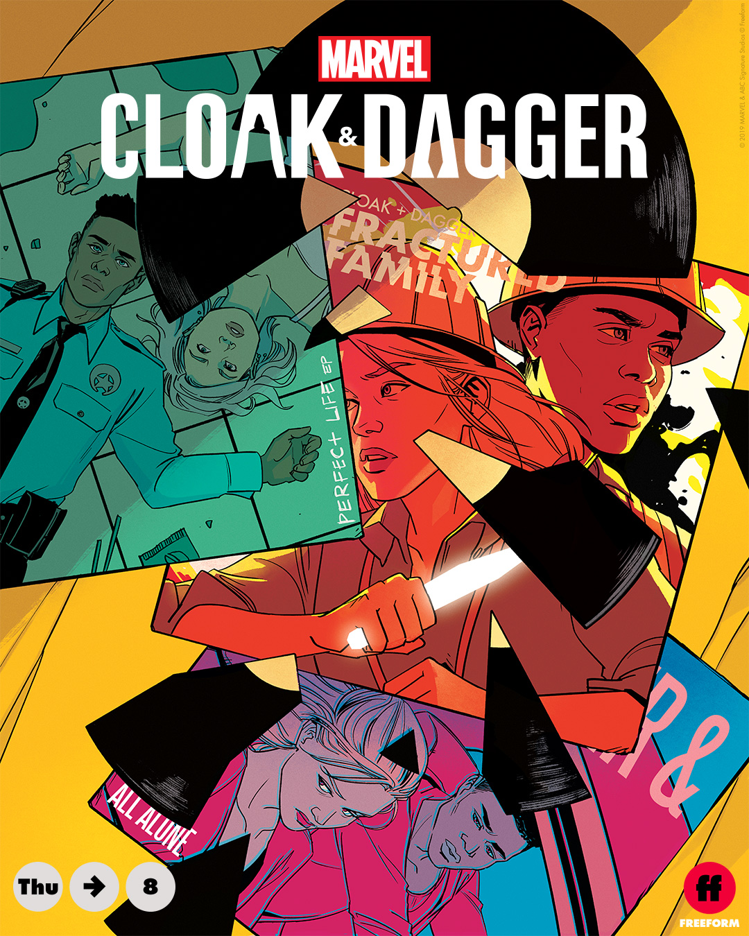 Reality Shatters in This Week's Exclusive MARVEL'S CLOAK & DAGGER Art_2