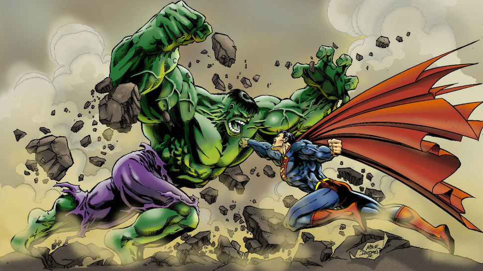 Who Would Win in a Fight Between Superman and The Hulk