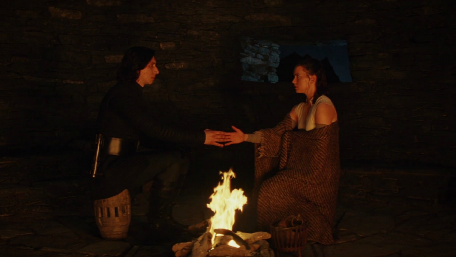Kylo Ren and Rey share a powerful Force connection in Star Wars: The Last Jedi.