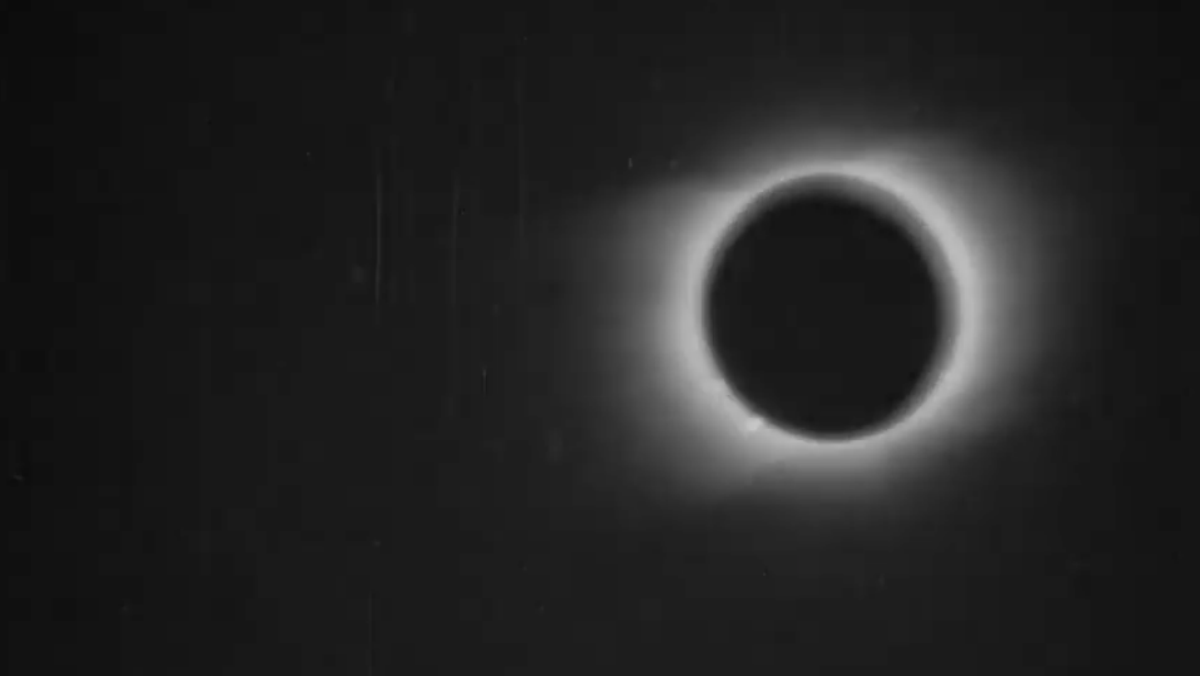 See 120-Year-Old Footage of the First Solar Eclipse Ever Filmed! - Nerdist