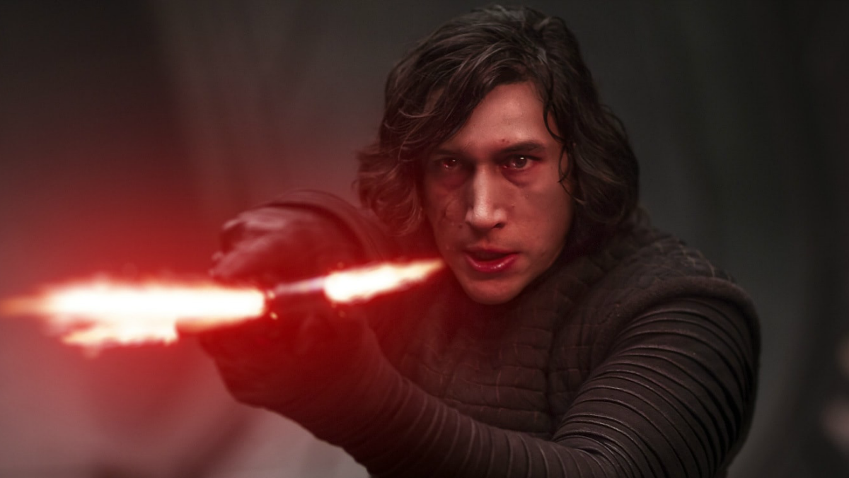 Adam Driver in Star Wars