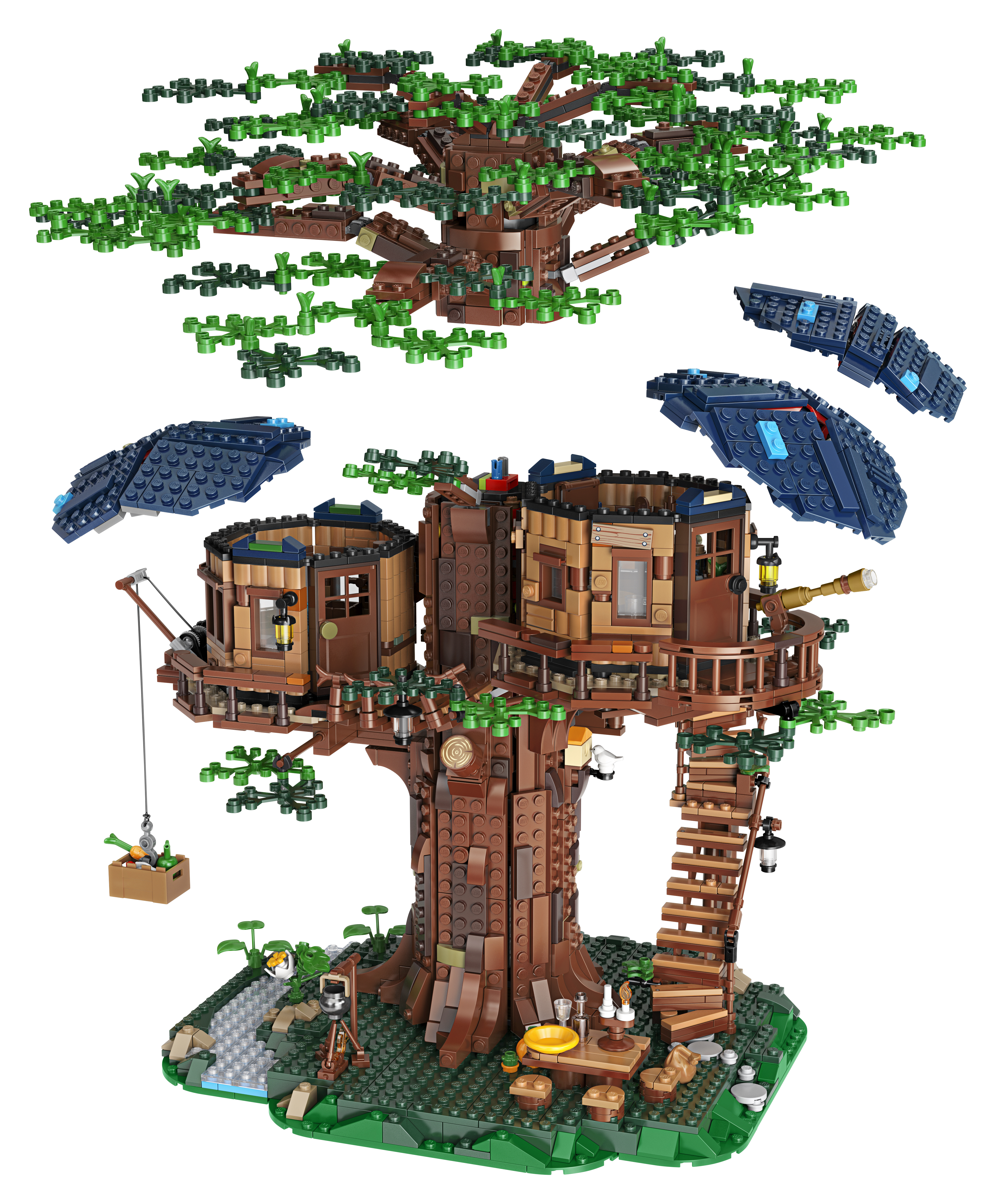 LEGO Ideas Launches an Environmentally Friendly Treehouse_6