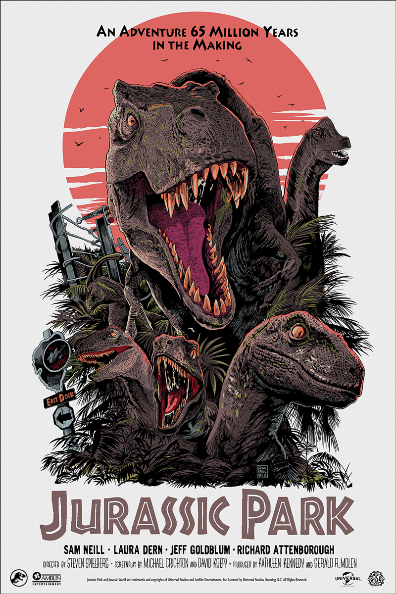Mondo Brings JURASSIC PARK, TRANSFORMERS Exclusive Posters to SDCC_2