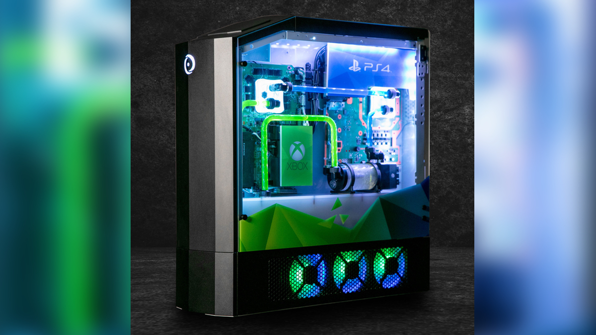 This Custom PC Is a PlayStation 4, XBox One, and Nintendo