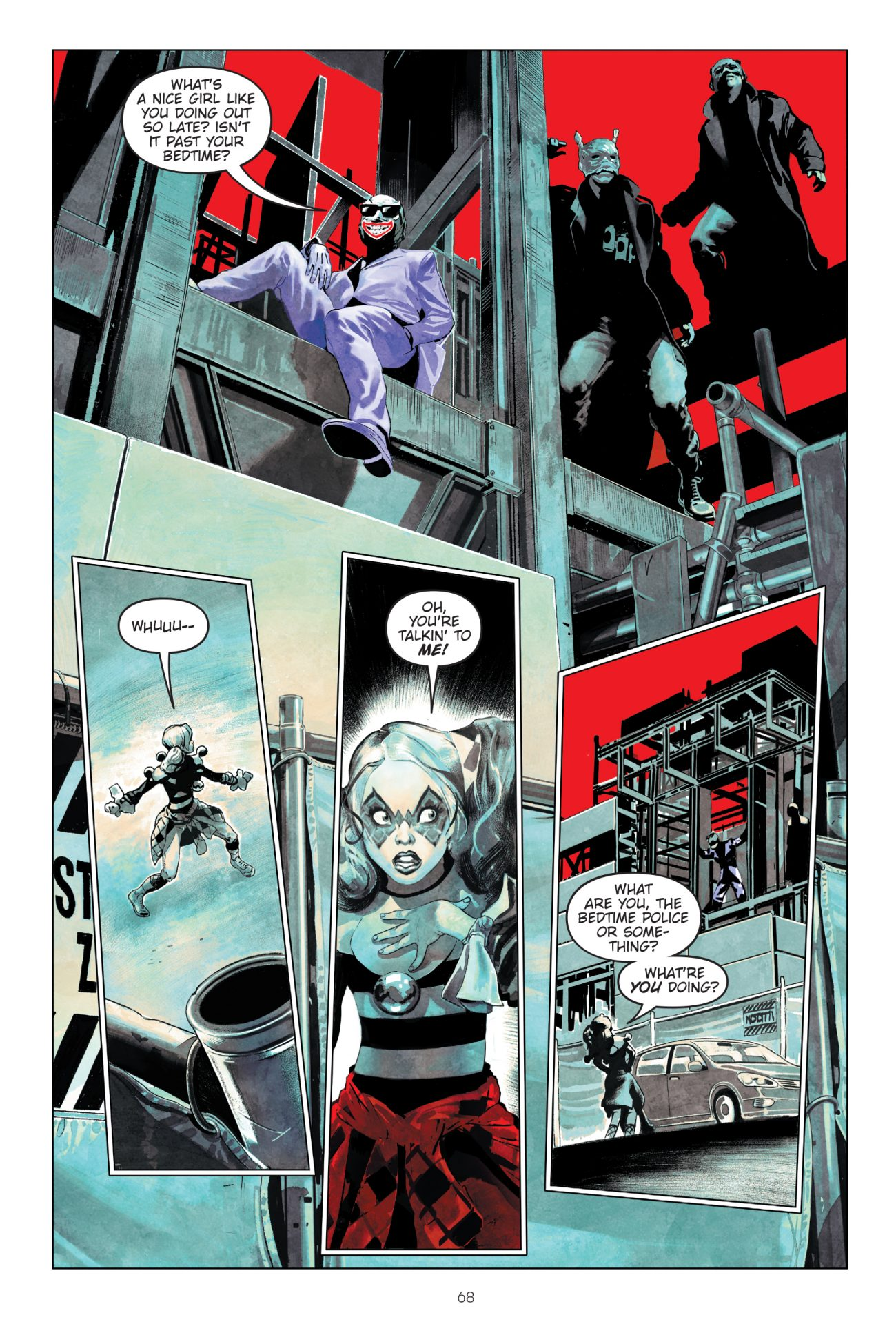 HARLEY QUINN: BREAKING GLASS Creates a New Origin Story (EXCLUSIVE)_2