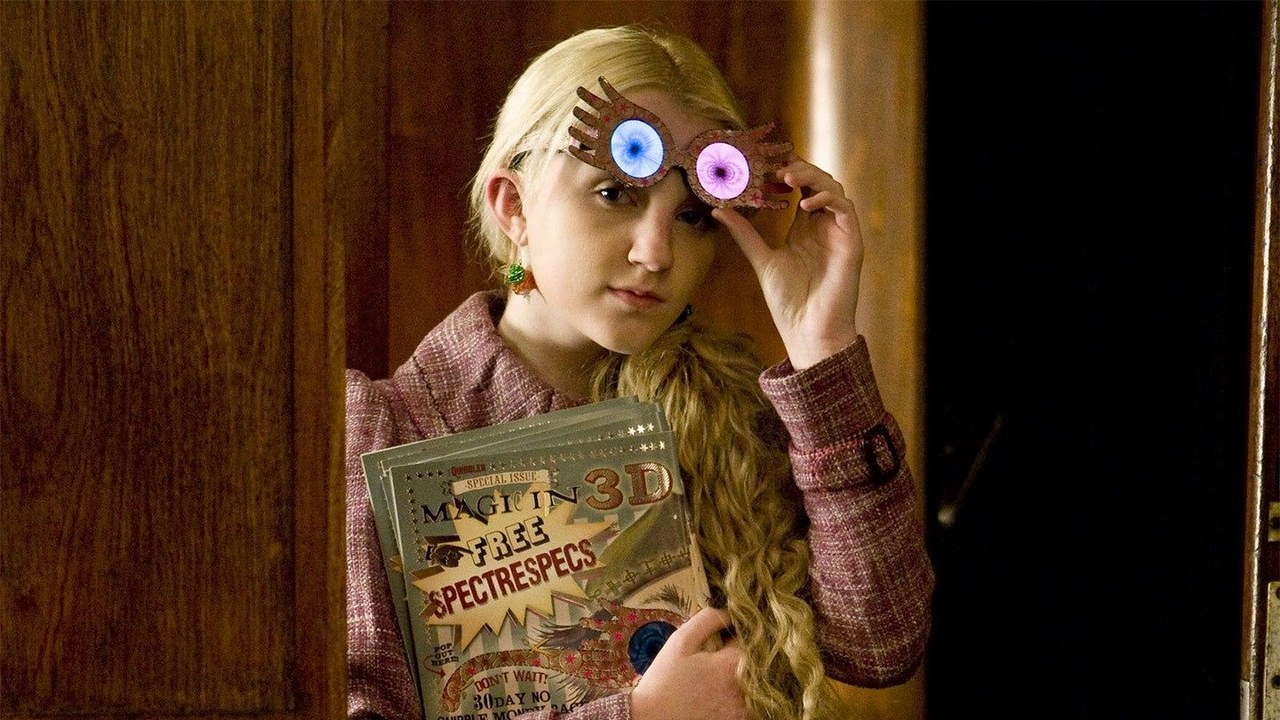 Luna Lovegood: Aquarius - Harry Potter Characters as the Zodiac Signs
