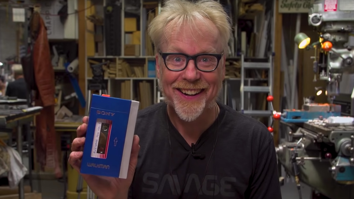 Adam Savage's Star-Lord Walkman Is Awesome Build Vol. 1