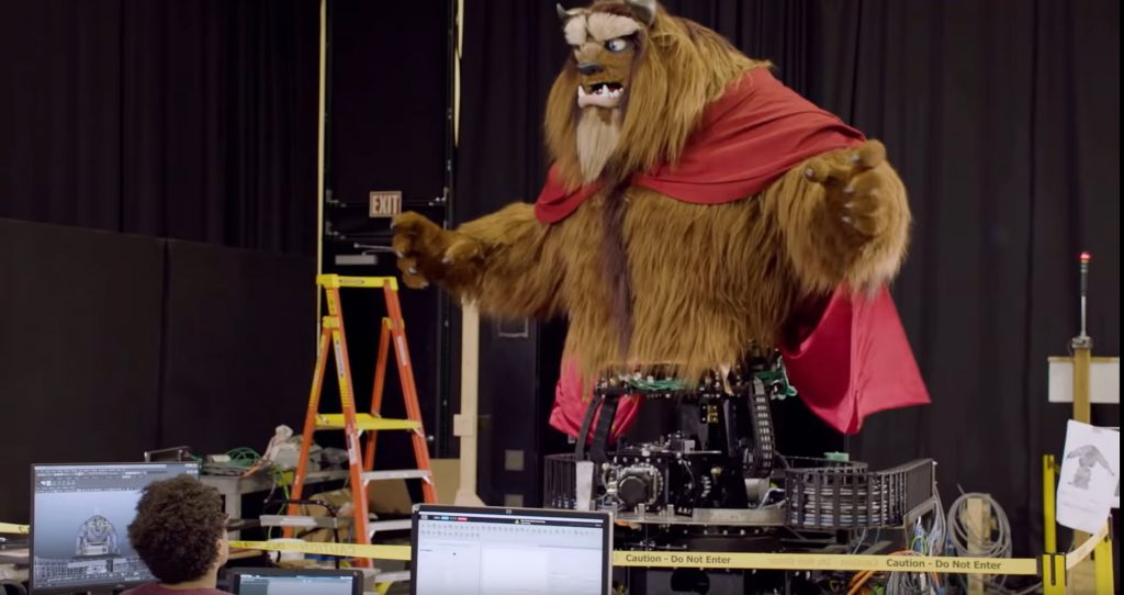 Beast Animatronic, Disney+ Imagineering Story