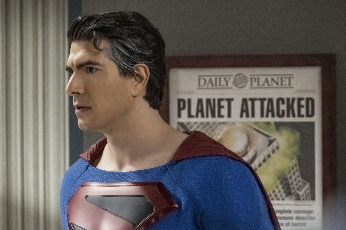 Brandon Routh portrays the Kingdom Come Superman in the second chapter of the CW's Crisis on infinite Earths crossover event.