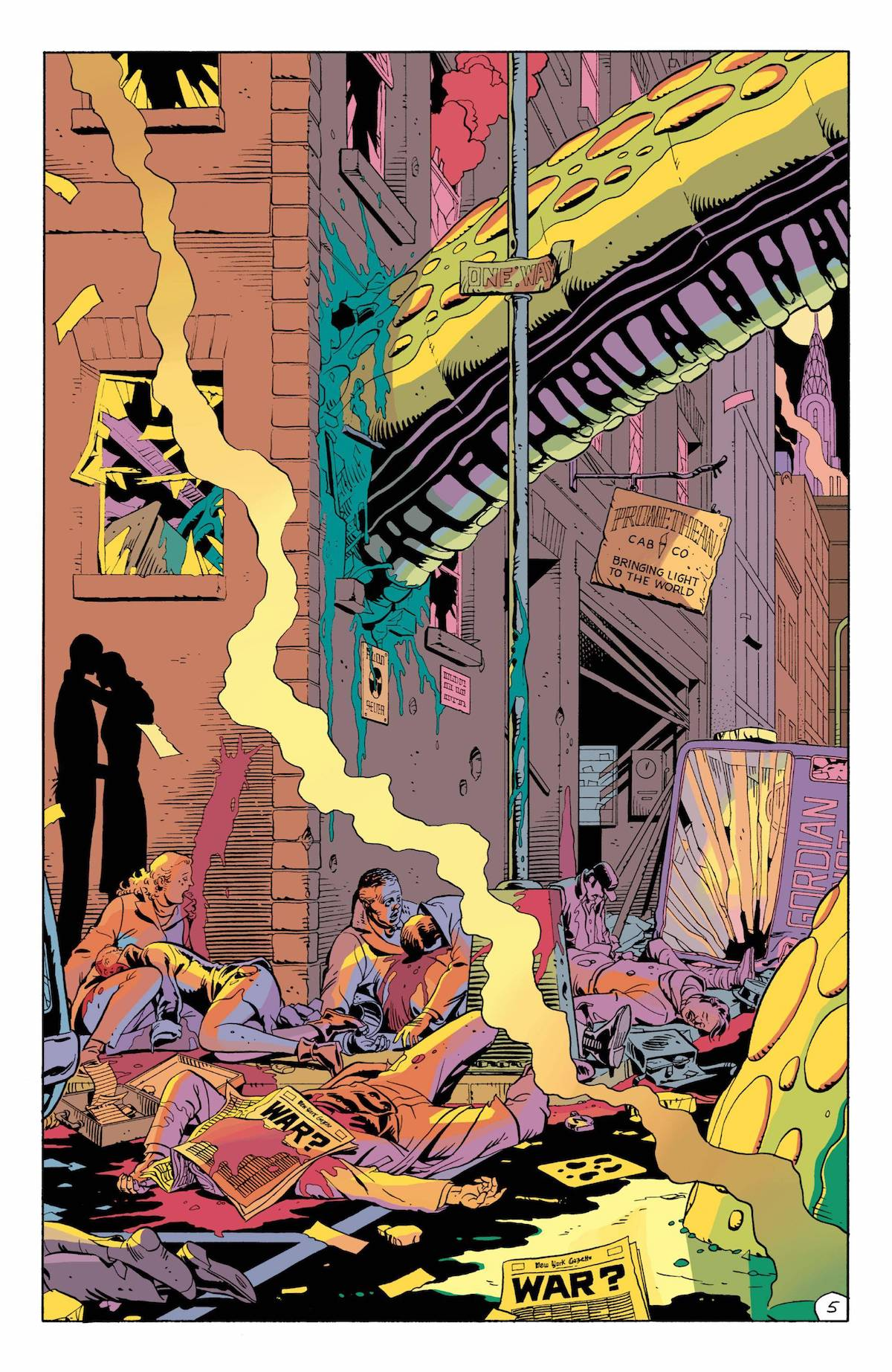 Page from Watchmen comic