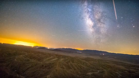 Jaw-Dropping Stabilized Sky Video Shows How Earth Rotates