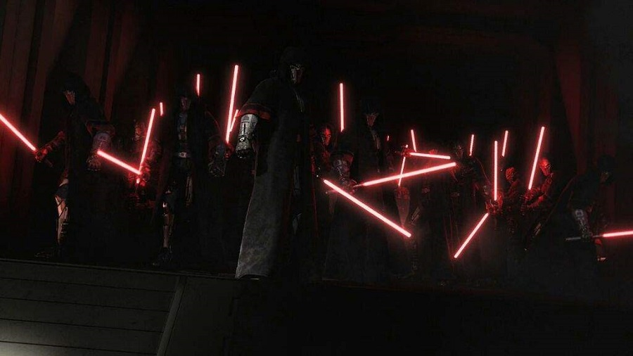 The army of Sith Lords from the Knights of the Old Republic video game series.