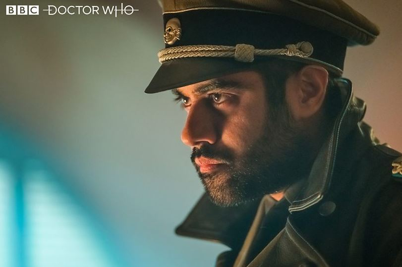 The Master (Sacha Dhawan) in Nazi garb.