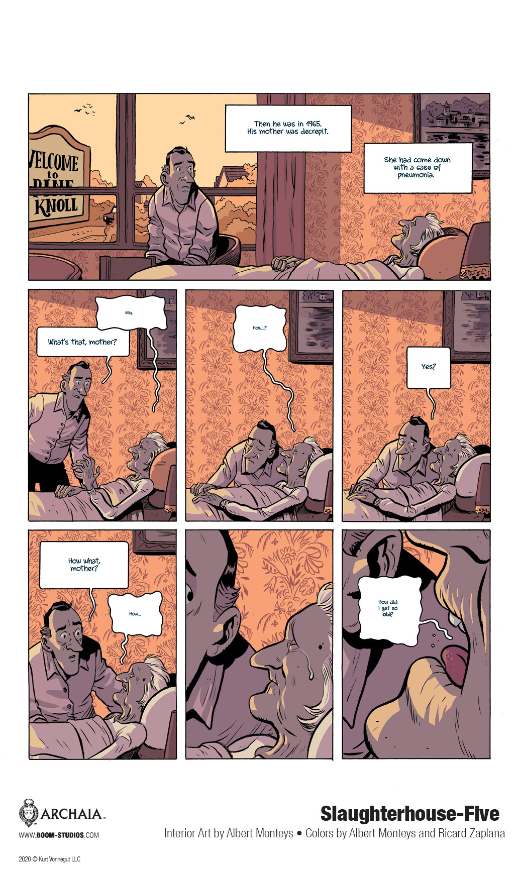 SLAUGHTERHOUSE-FIVE Graphic Novel to Be Released This Year!_13
