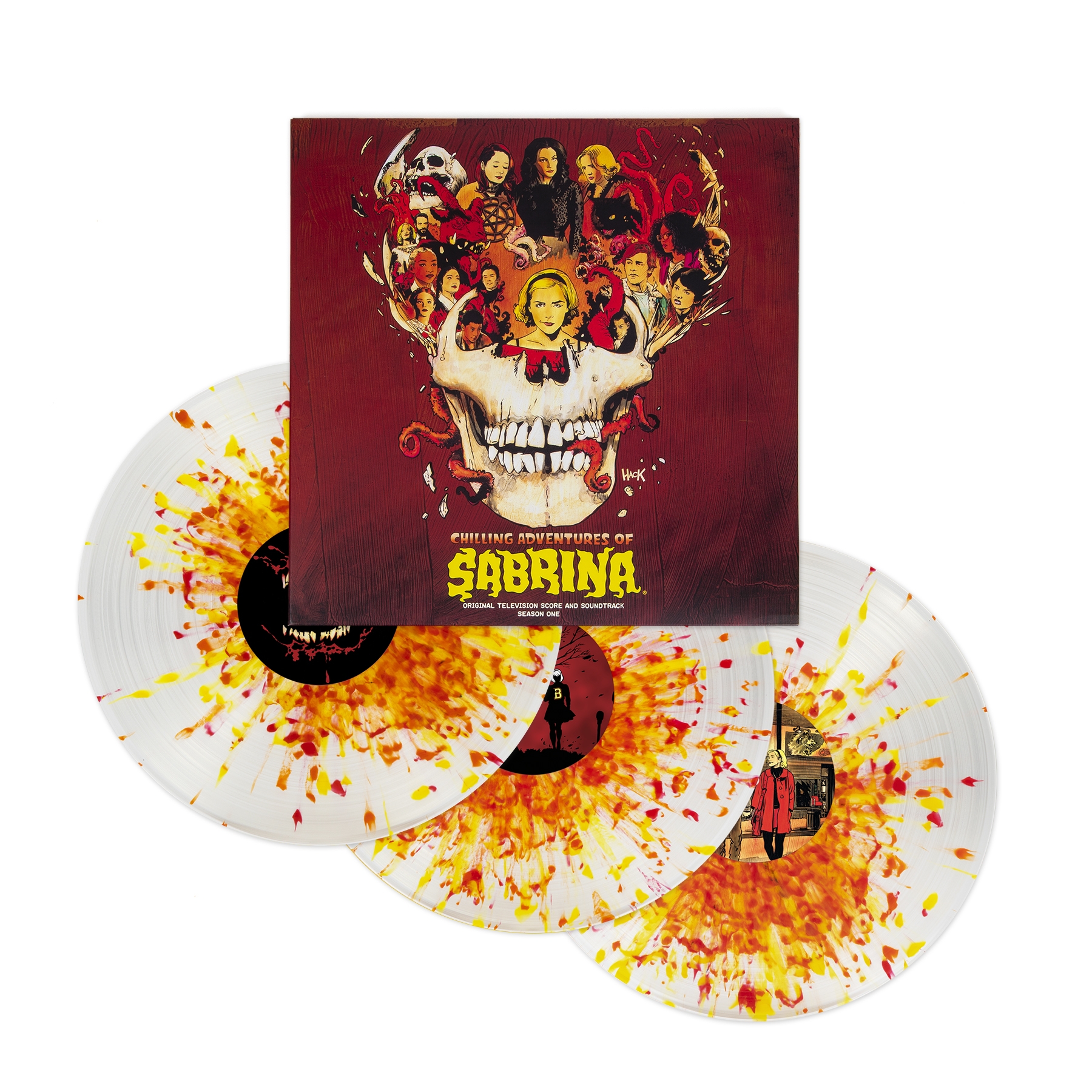 This Stunning CHILLING ADVENTURES OF SABRINA Deluxe 3LP Vinyl Collection is Magic_1