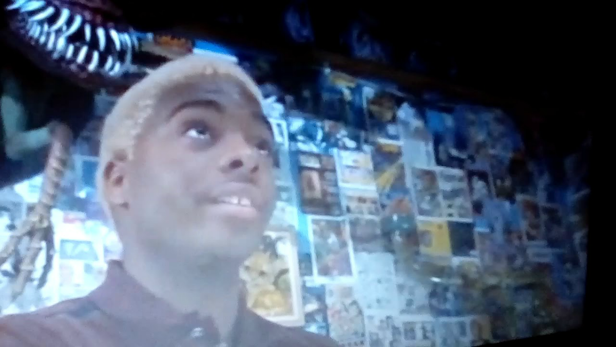 Kel Mitchell as Invisible Boy in Mystery Men.
