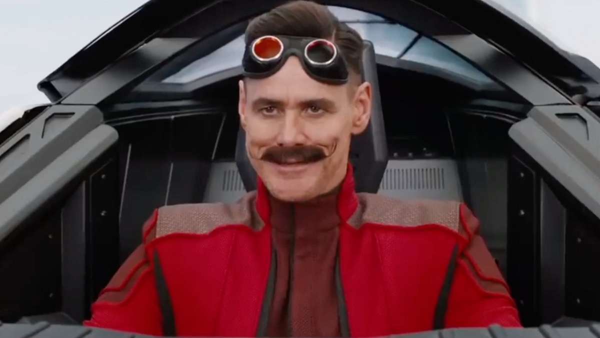 Jim Carrey steals the show as Robotnik in Sonic the Hedgehog.