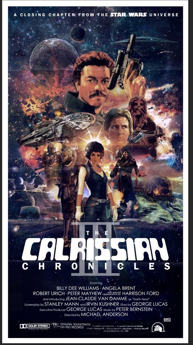 The Calrissian Chronicles III poster by the amazing Peter Stults.