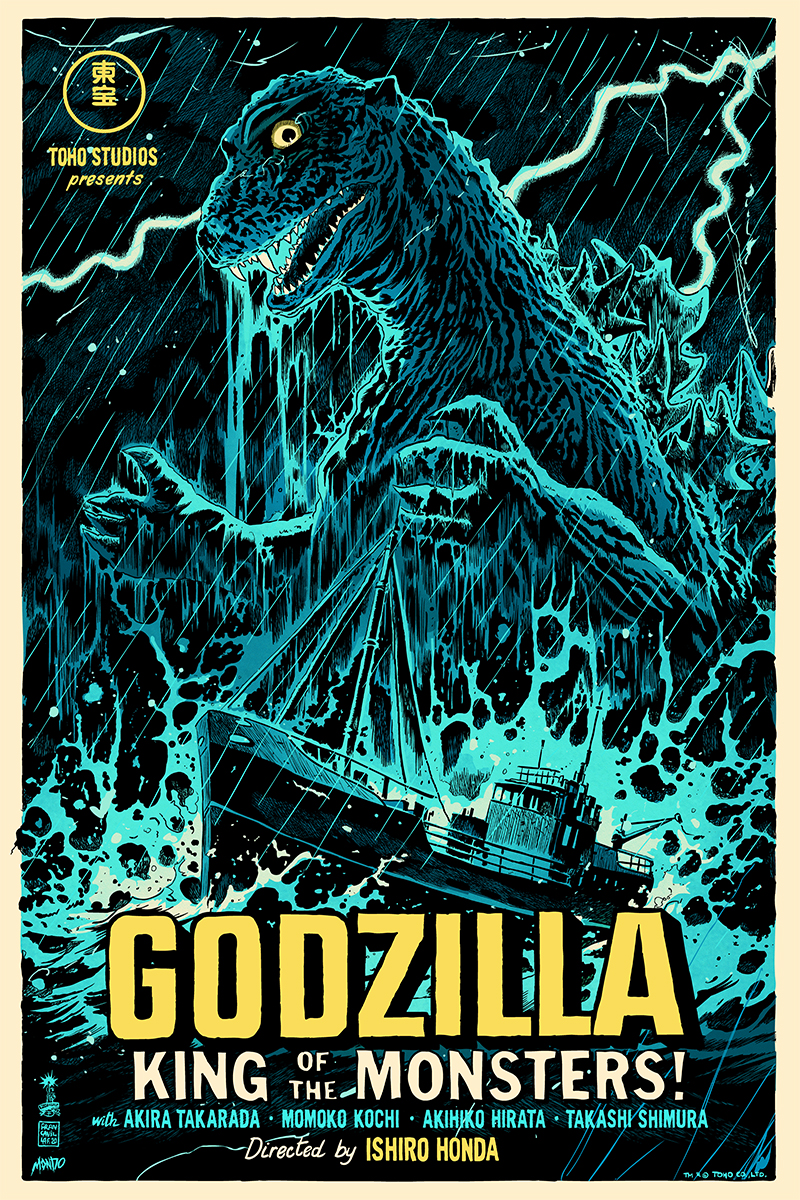 [9am PT Monday 30th] These Mondo GODZILLA Posters Crush (Exclusive)_1