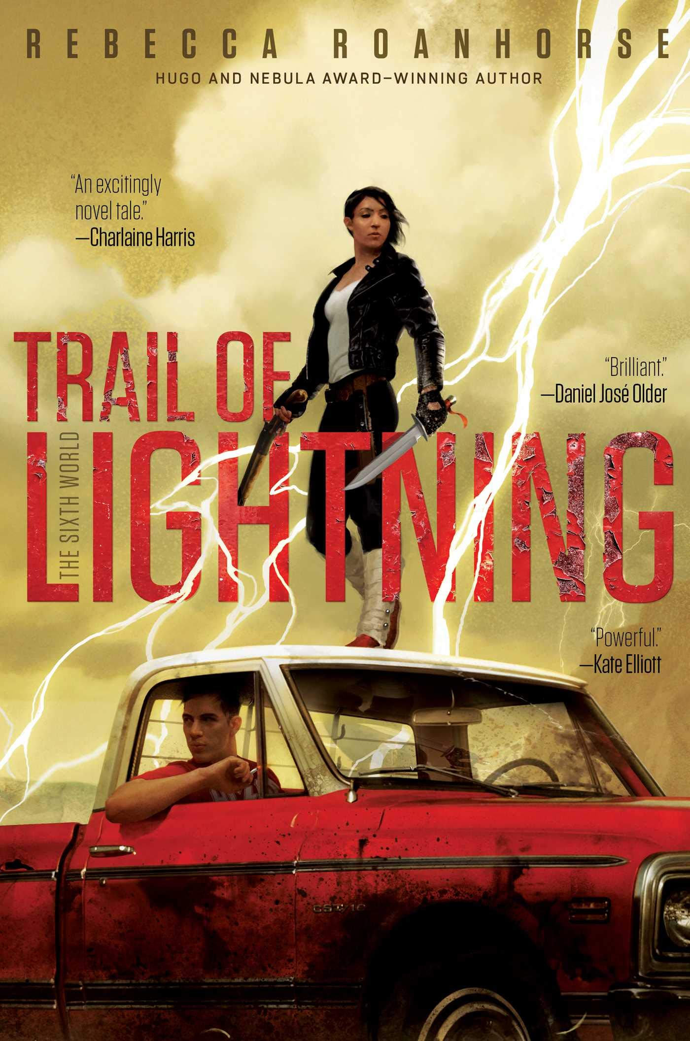 Trail of Lightning book cover