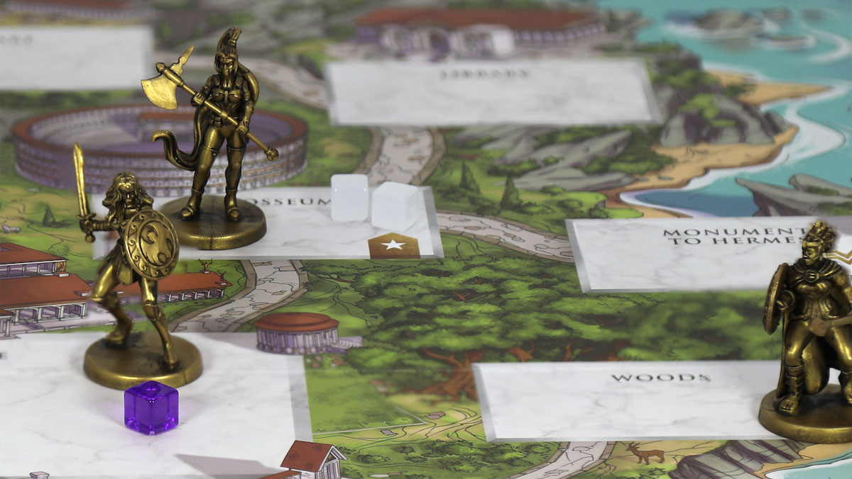 Wonder Woman: Challenge of the Amazons game