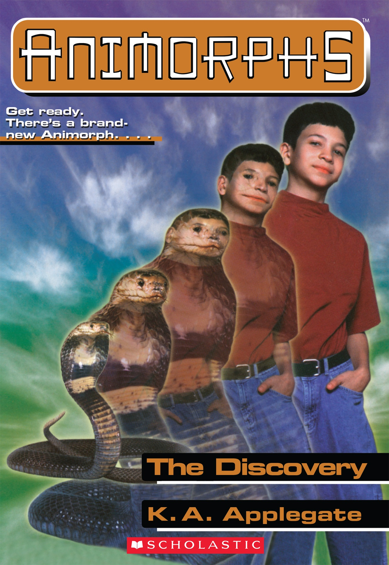Animorphs The Discovery cover
