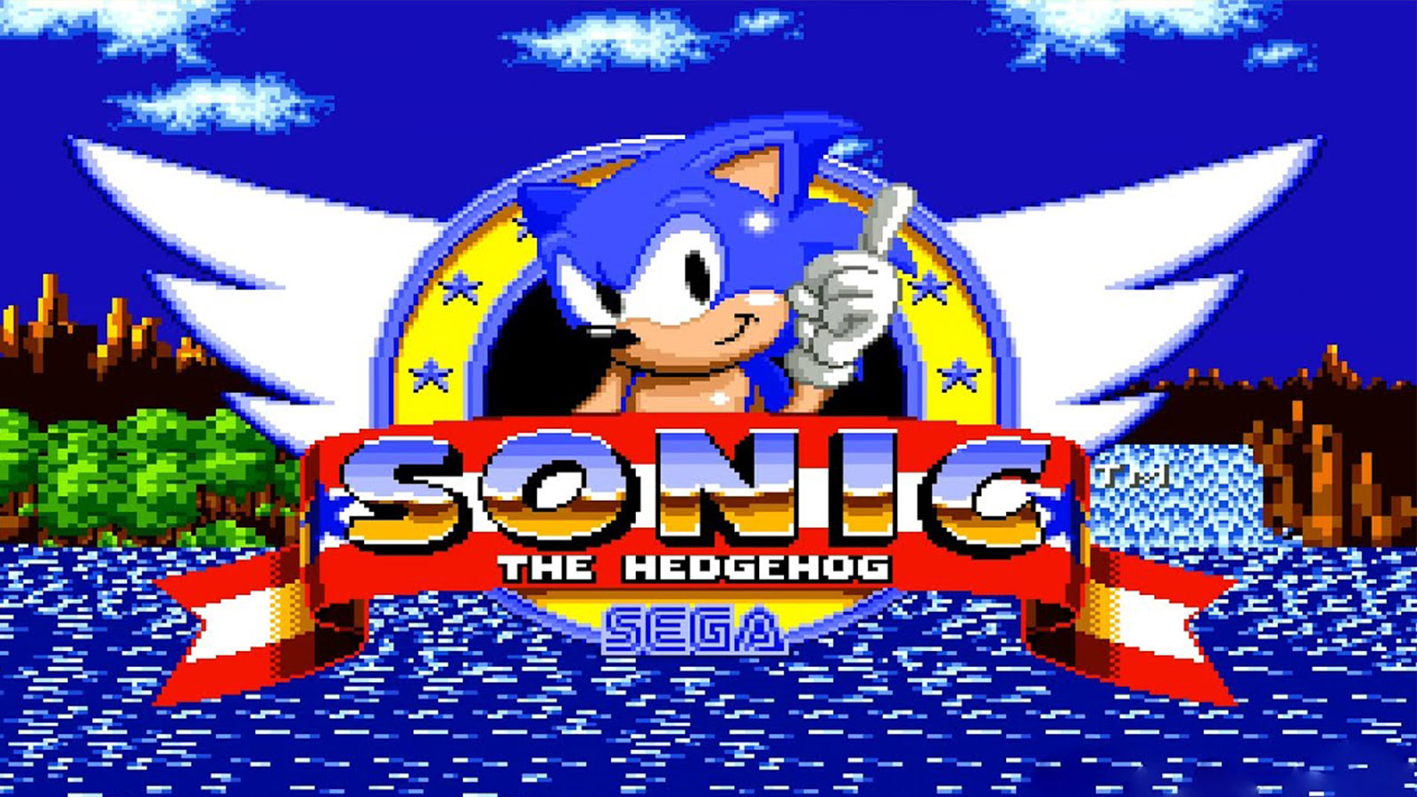 Sonic the Hedgehog first released in 1991 for the Sega Genesis.
