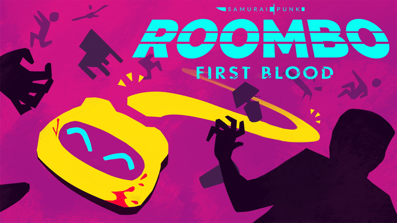 Fight off burglars as a not-so-friendly robotic vacuum cleaner in in Roombo: First Blood.